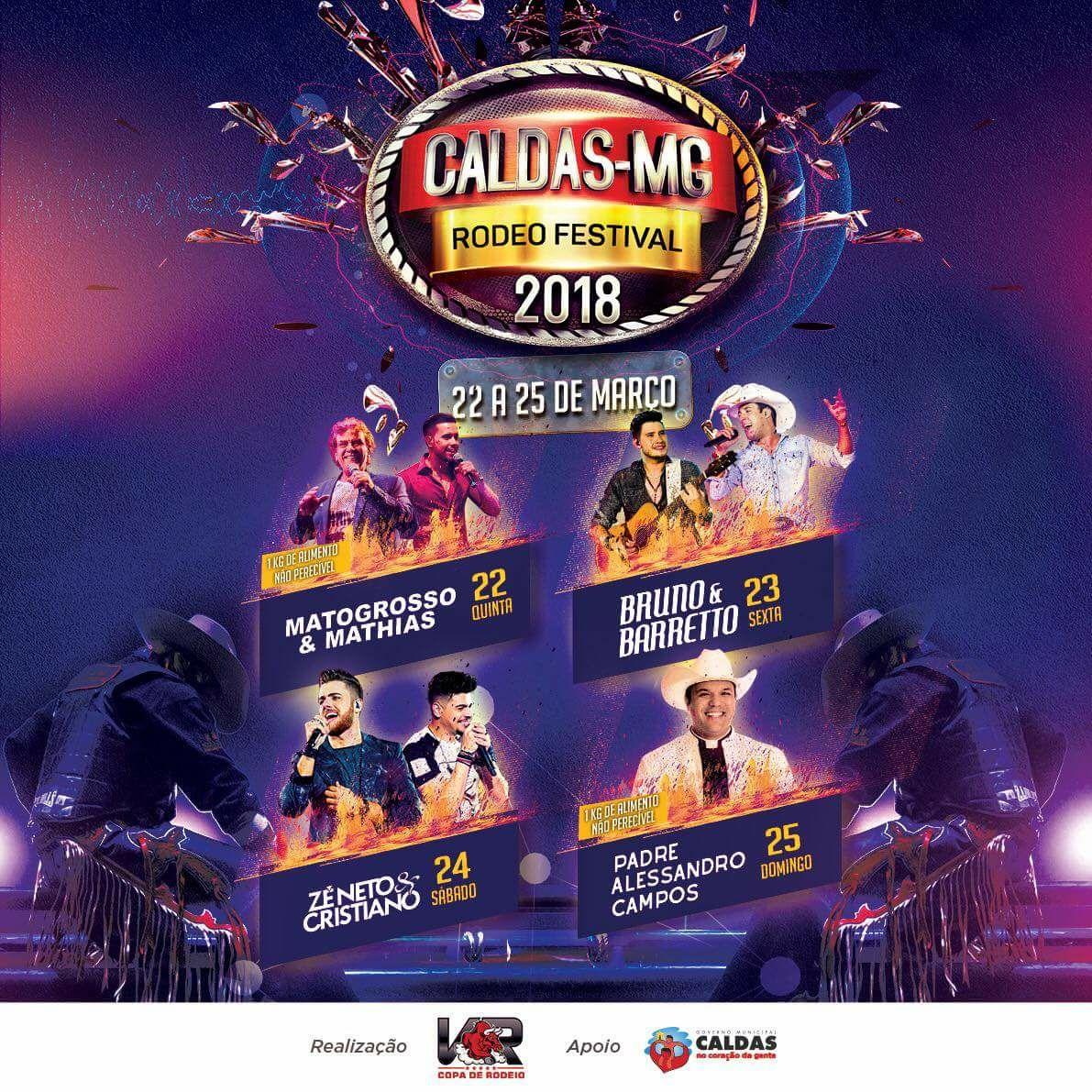 Circuito Rodeio 2018 : Caldas rodeo festival guia de rodeios brasil